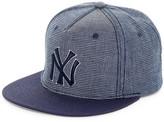 American Needle Indigo Go NY Yankees Snapback Hat