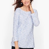 Talbots Cozy Terry Top - Marled Sparkle