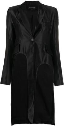 Ann Demeulemeester Asymmetric Satin Tail Jacket