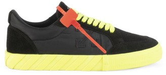 Off-White Low Vuncanized Leather Sneakers