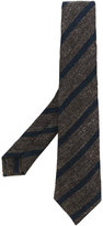 Kiton striped tie - men - Silk/Wool - One Size