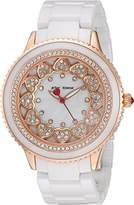 Betsey Johnson Ring of Hearts Watch BJ0062203