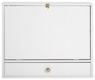 Red Barrel Studio Bhaga Floating Desk Color: White