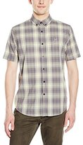 HUF Men's Madras Short Sleeve Shirt
