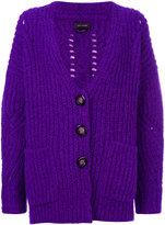 Isabel Marant chunky-knit cardigan - women - Polyester/Wool/Alpaca - 38