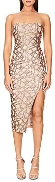 Nookie Eclipse Strapless Midi Dress