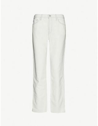 J Brand Tate boyfriend mid-rise stretch-denim jeans