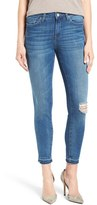 Mavi Jeans Women's Alissa Distressed Stretch Skinny Ankle Jeans