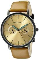 Ted Baker Men's TE1094 Smart Casual Round Black Multi-Function Dial Watch