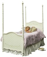 The Well Appointed House Handpainted Sleeping Beauty Four Poster Bed