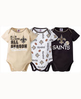 Gerber Babies' New Orleans Saints 3 Piece Creeper Set