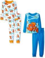 Disney Boys' Finding Dory 4-Piece Pajama Set