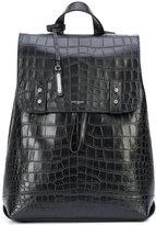 Saint Laurent Sac de Jour Souple backpack - men - Leather - One Size
