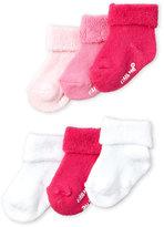 Little Me Infant Girls) 6-Pairs Folded Cuff Socks