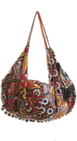 Simone Camille Textile Moon Bag
