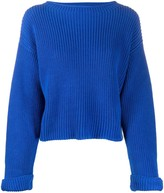 Semi-Couture Semicouture round neck cable-knit jumper