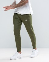 Nike Legacy Printed Joggers In Green 805150-331