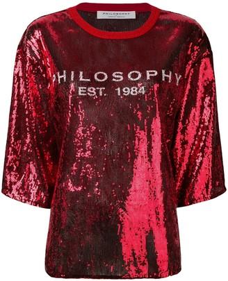 Philosophy di Lorenzo Serafini Logo Embellished Blouse