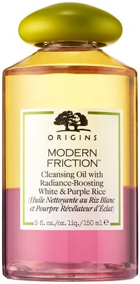 Origins Modern Friction Cleansing Oil with Radiance-Boosting White & Purple Rice