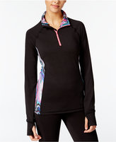 Material Girl Active Juniors' Contrast-Trim Jacket, Only at Macy's
