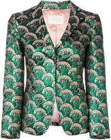 L'Autre Chose jacquard blazer