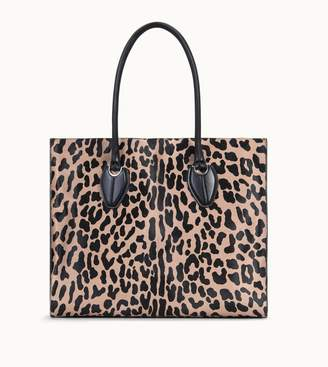 Tod's Tods Shopping Bag Large in Ponyskin-Effect Leather