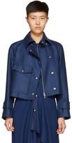 Sies Marjan Navy Gemma Moto Jacket