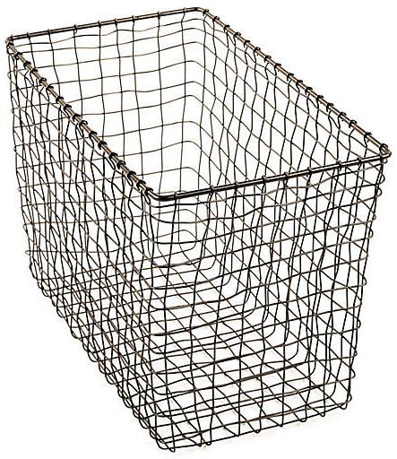 "15"" Bosworth Magazine Basket - Gray"