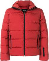 Fendi appliqué padded jacket