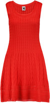 M Missoni Cotton-blend crochet-knit dress