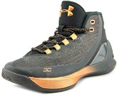 Under Armour Curry 3 Youth US 3 Black Basketball Shoe