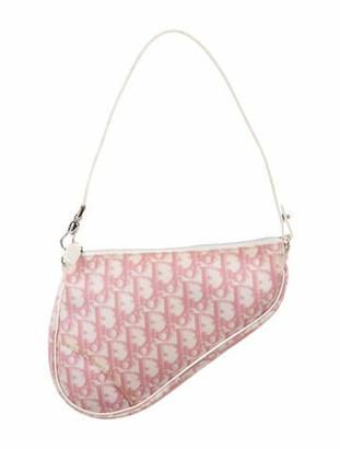 Christian Dior Diorissimo Girly Saddle Pochette Pink
