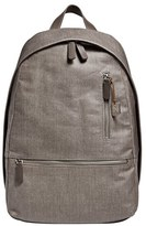 Skagen Men's 'Kroyer' Waxed Canvas Twill Backpack - Grey