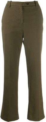 Aspesi Low-Waist Flared Trousers