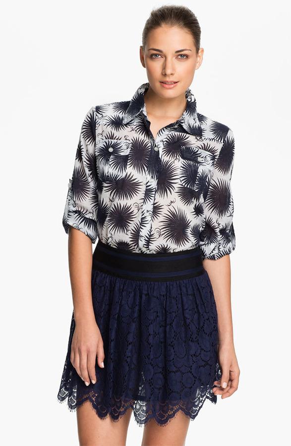 Milly 'Caroline' Print Shirt