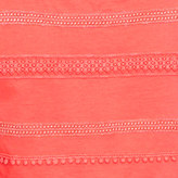 J.Crew Lace-stripe shell