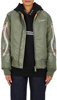 Andersson Bell Women's Dragon-Embroidered Bomber Jacket