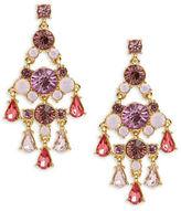 Carolee Spring Bouquet Chandelier Earrings