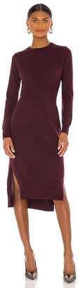 Autumn Cashmere Wrap 'N Tie Dress