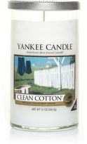 Yankee Candle Glass pillar clean cotton