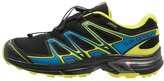 Salomon Wings Flyte 2 Gtx Trail Running Shoes Black/bright Blue/gecko Green