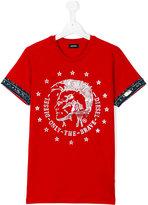 Diesel teen Tait T-shirt - kids - Cotton - 16 yrs