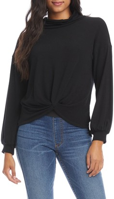Karen Kane Twist Front Sweater