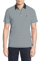 AG Jeans 'Pico' Stripe Pima Cotton Polo