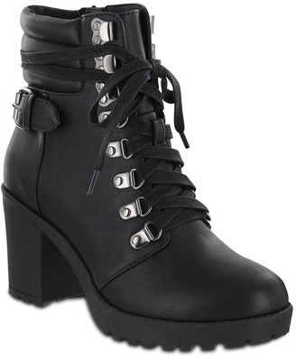 Mia Floraa Lace-Up Boot