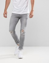 Brooklyn Supply Co. Brooklyn Supply Co Skinny Jeans Venice Bleach Out Wash