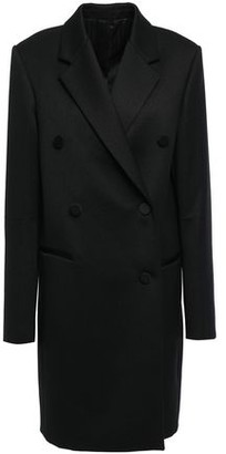 Helmut Lang Double-breasted Wool-blend Twill Coat