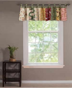 Greenland Home Fashions Antique Chic Window Valance