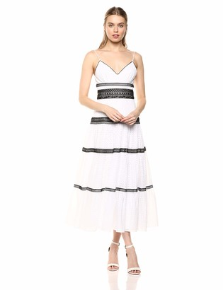 Jill Stuart Jill Women's 700063 Off- Off-White/Black 2