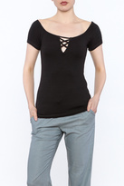 Michael Stars Basic Fitted Top